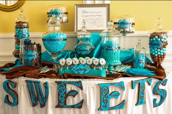 Diy Wedding Buffet Table
